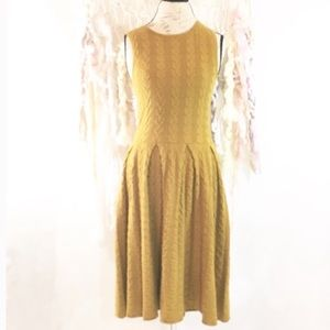 Anthropologie Far Away From Close Sweater Dress